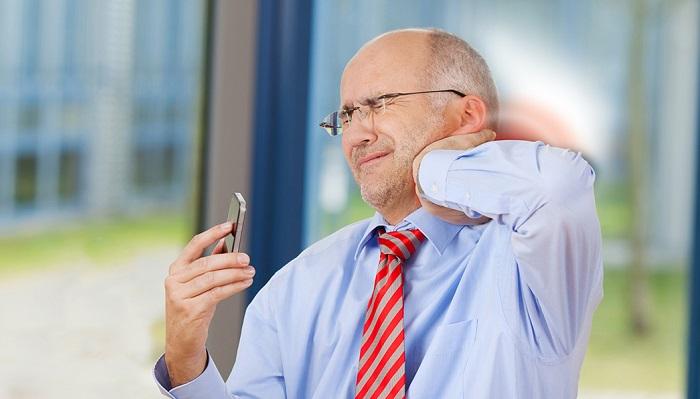 نتیجه تصویری برای گردن درد پیامکی